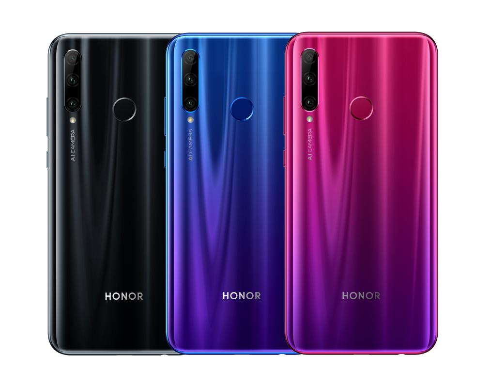 Смартфон Honor 10i: модель среднего класса с широкоугольной камерой