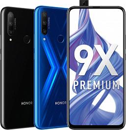 Смартфон Honor 9X Premium (STK-LX1): безрамочный экран без вырезов и выскакивающая фронтальная камера
