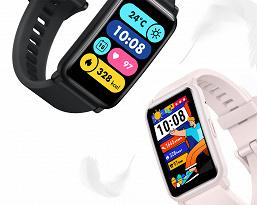 Умные часы Honor Watch ES: большой цветной экран, измерение кислорода в крови и низкая цена