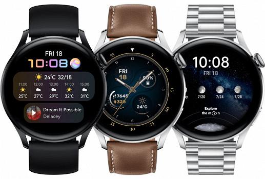 Умные часы Huawei Watch 3: полноценная операционная система, телефонные звонки с eSIM и колесико управления