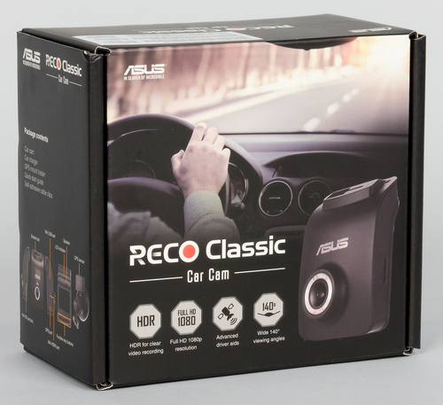 Автомобильный видеорегистратор Asus Reco Classic Car Cam