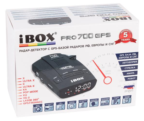 радар-детектор с GPS-информером iBox Pro 700 GPS