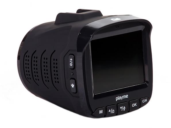 Видеорегистратор с радар-детектором и GPS-информером Playme P350 Tetra