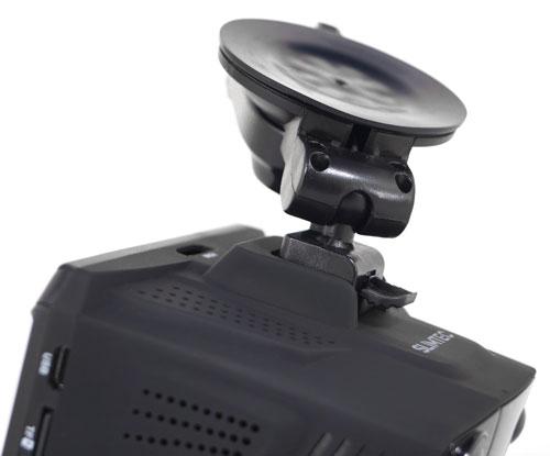 Видеорегистратор с радар-детектором и GPS-модулем Slimtec Phantom A7