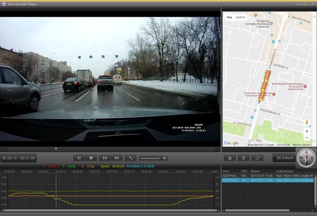 Работа с видеозаписями Stealth MFU 640