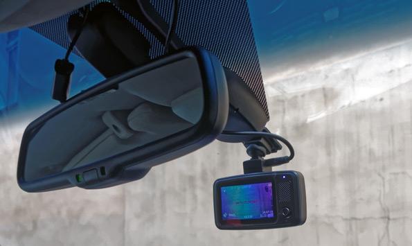 Автомобильный видеорегистратор TrendVision TDR-718GP