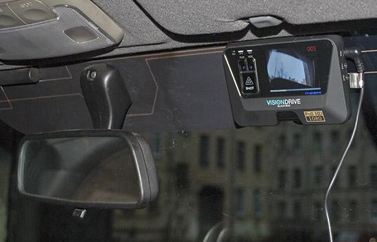 Автомобильный видеорегистратор Visiondrive VD-9000FHD