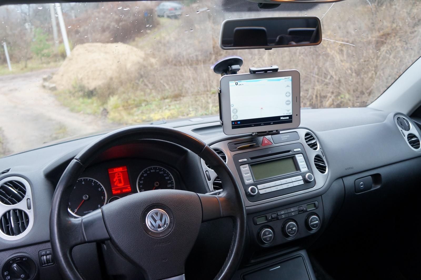 Крепление планшета в машину своими руками