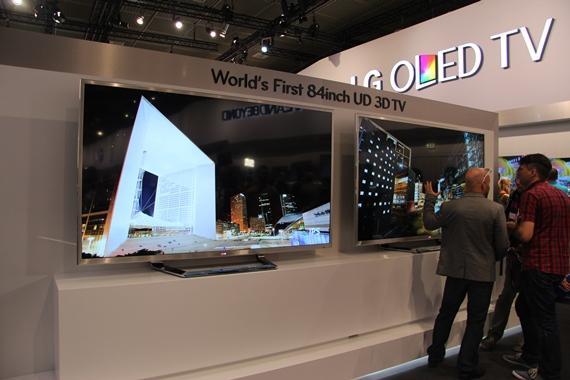 новый телевизор LG UD 84LM9600
