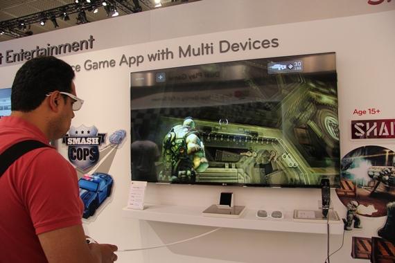 новый LED-телевизор LG 55 LM9600