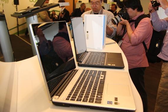 тонкие и легкие лэптопы Acer Aspire V5