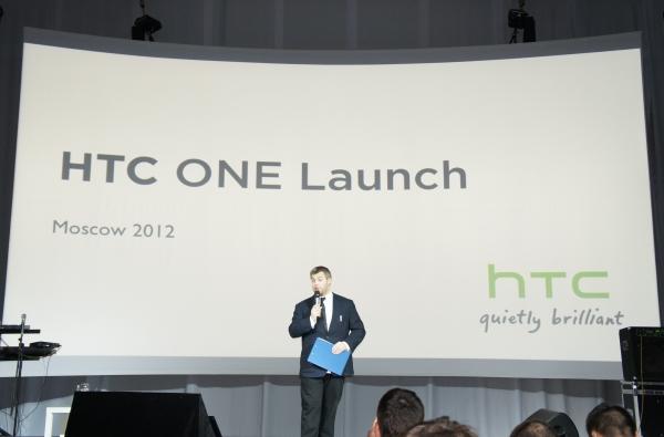 Презентация смартфонов HTC One