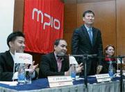 Президент и CEO MPIO господин Юн-Ку Ву во время своего визита в Москву в сентябре 2005 года