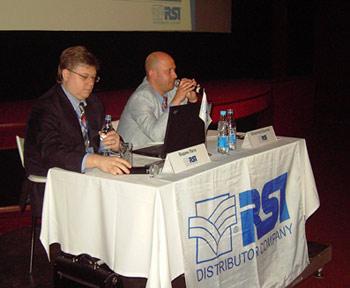 Вадим Лата, коммерческий директор, и Всеволод Крылов, генеральный директор RSI