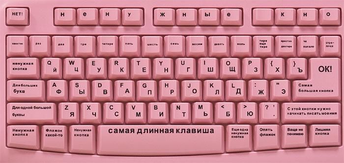 [КЛАВИАТУРА ДЛЯ БЛОНДИНОК]