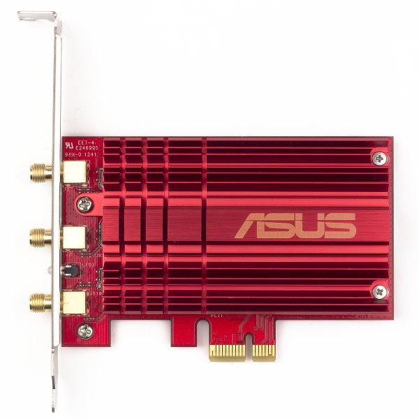 Внешний вид беспроводного адаптера ASUS PCE-AC66