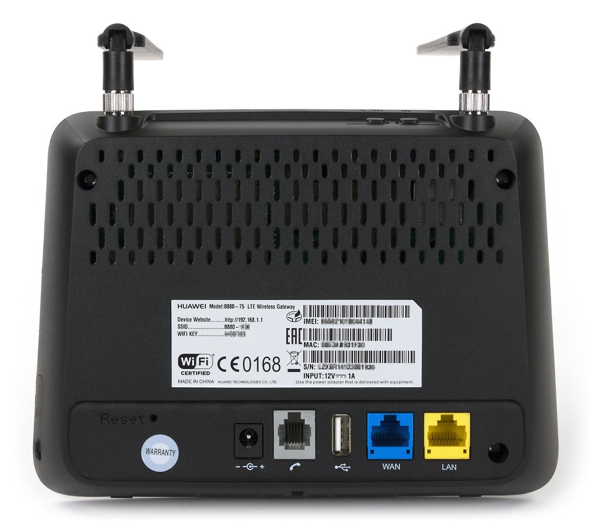 Внешний вид Huawei B880