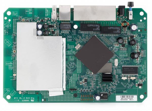 Печатная плата беспроводного роутера Netgear WNDR3800