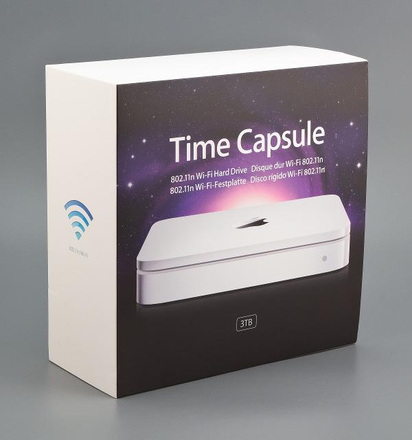 Упаковка Apple Time Capsule