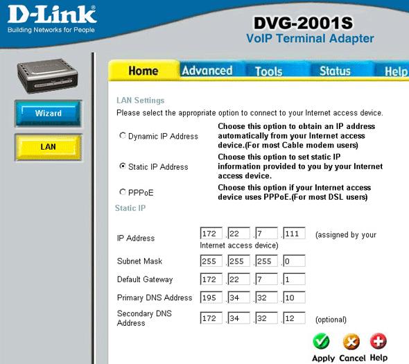 Схемы применения d-link dvg-4022s