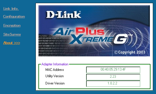 DLink DWL G650 driver