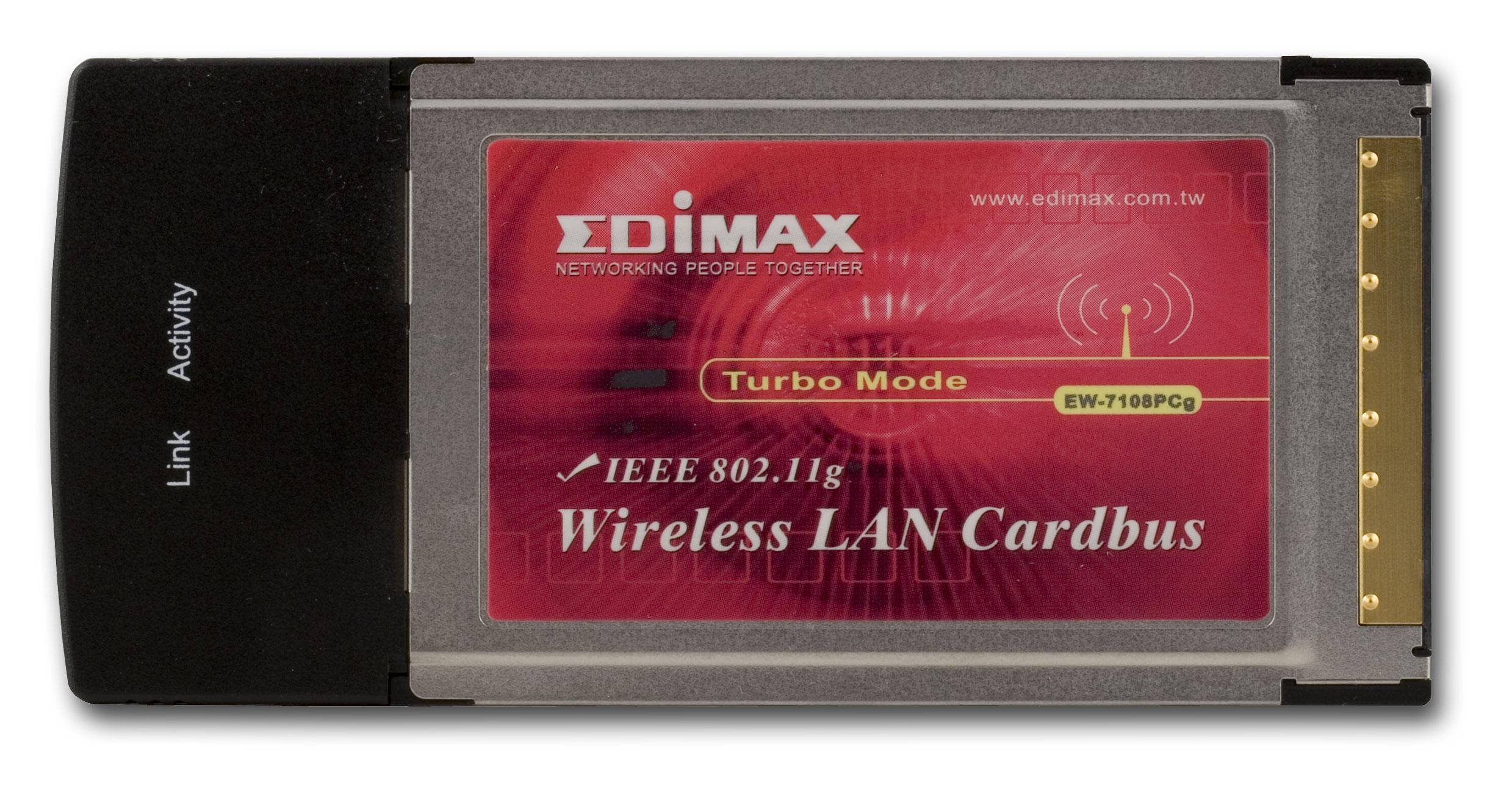 EDIMAX EW-7108PCG WLAN DOWNLOAD DRIVER