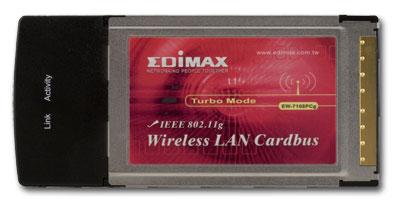 Edimax ew-7128g pci wireless card
