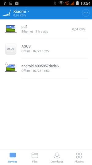 Мобильное приложение Xiaomi Mi Wi-Fi Mini
