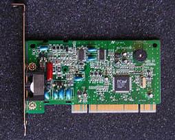 ZyXEL OMNI 56K PCI Plus ( Dial-up Fax модем ) как новый.
