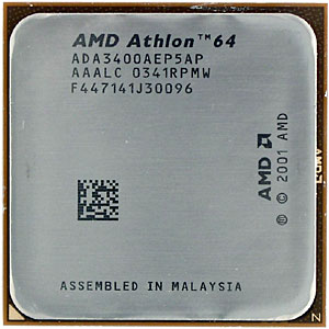 Amd Athlon 64 3400 Compared To Other Top Processors From Intel And Amd