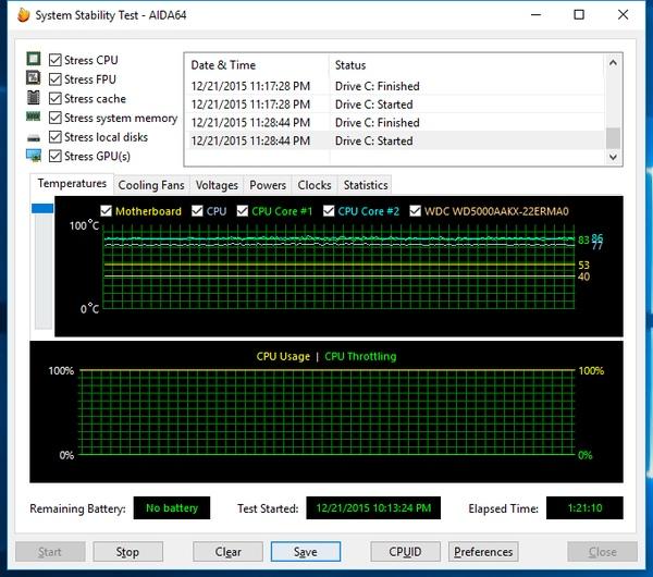Стресс-тест Asus VivoPC VM60