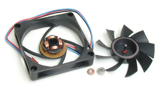 Ball Bearing Fan : Cooling systems part fans technical details