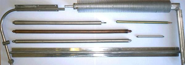 Конструкции тепловых труб
