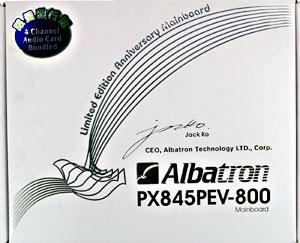 albatron px845pev инструкция
