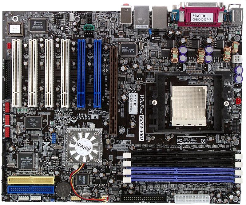 Leadtek K8NW Pro (NVIDIA nForce3 Pro 150) Mainboard