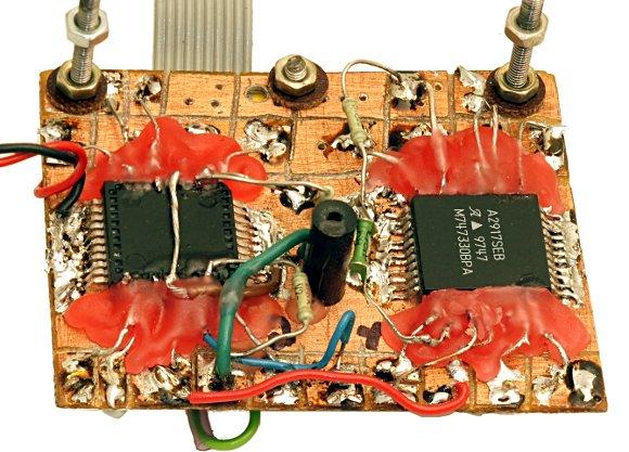 наш самодельный модуль на микросхемах A2917.