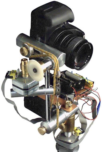 Шаговые двигатели и контроллер