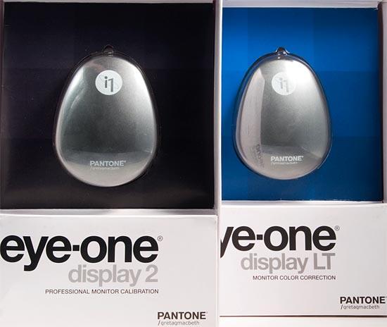 PANTONE/Gretagmacbeth Eye-One display LT и Eye-One display 2