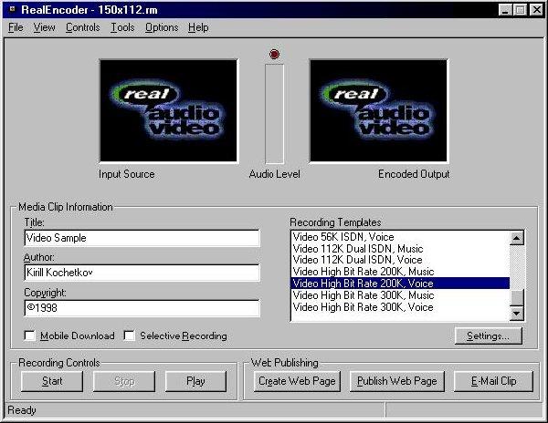 кодирование онлайн видео