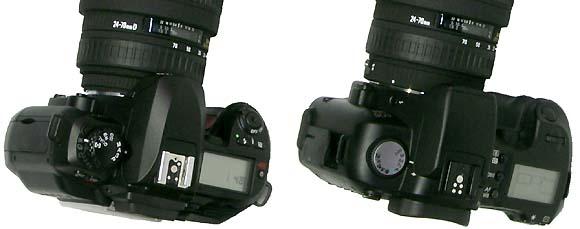 Nikon D100, Canon EOS D60