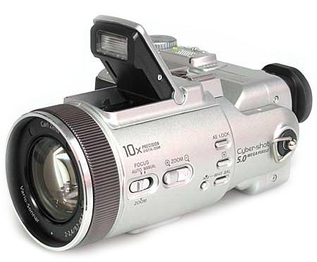 Sony cyber shot dsc f717