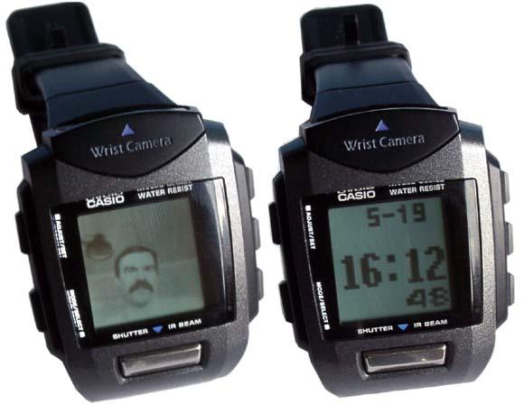 Casio Wrist Camera