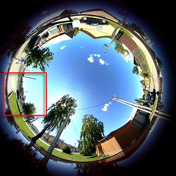 Панорамная экшн-камера 360Fly HD