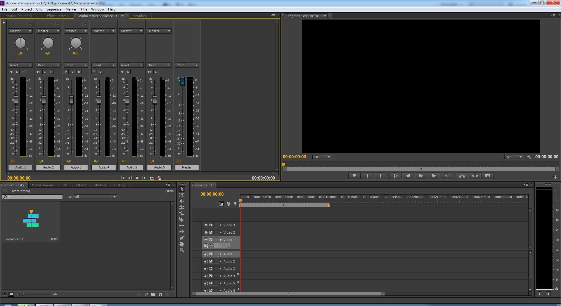 Видеоурок по adobe premiere pro cs6