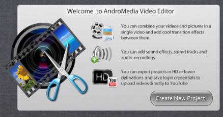 На приложение андроид обработки для видео
