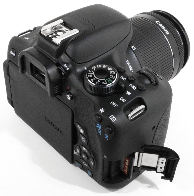 Видеосъемка фотоаппаратом  Canon EOS 750D