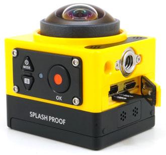 экшн-камера Kodak PixPro SP360