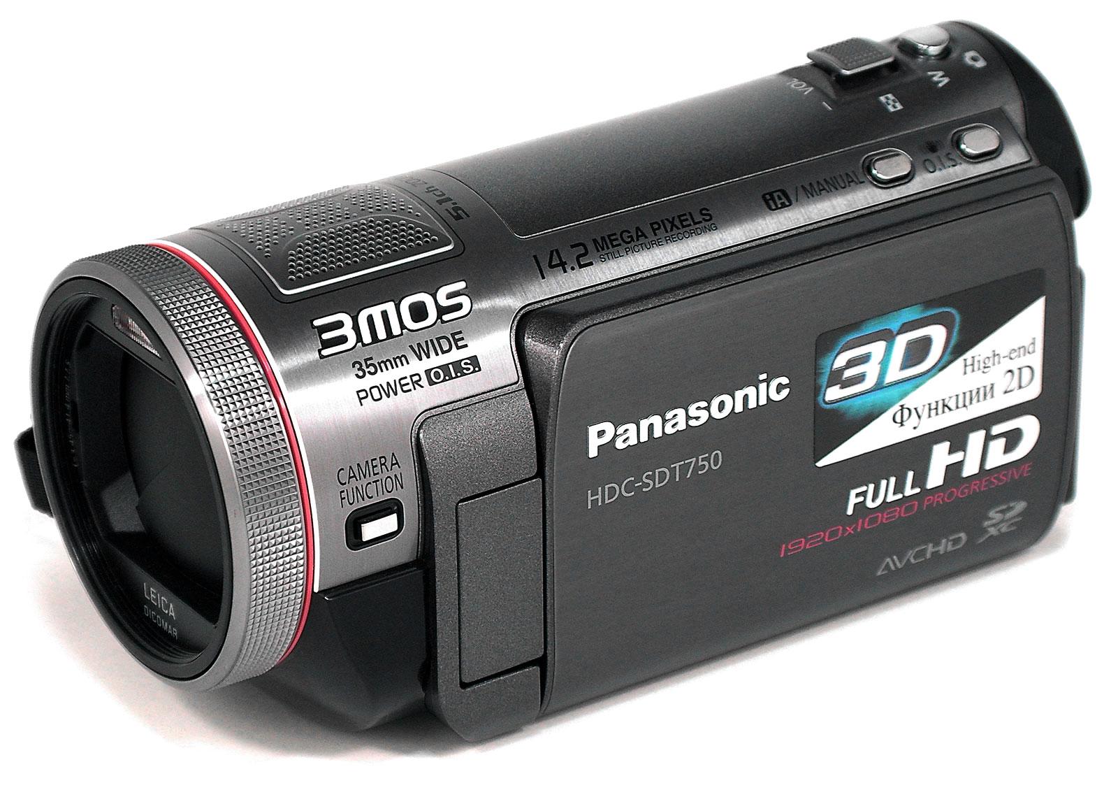 Цифровые 3d видеокамеры Panasonic: цены