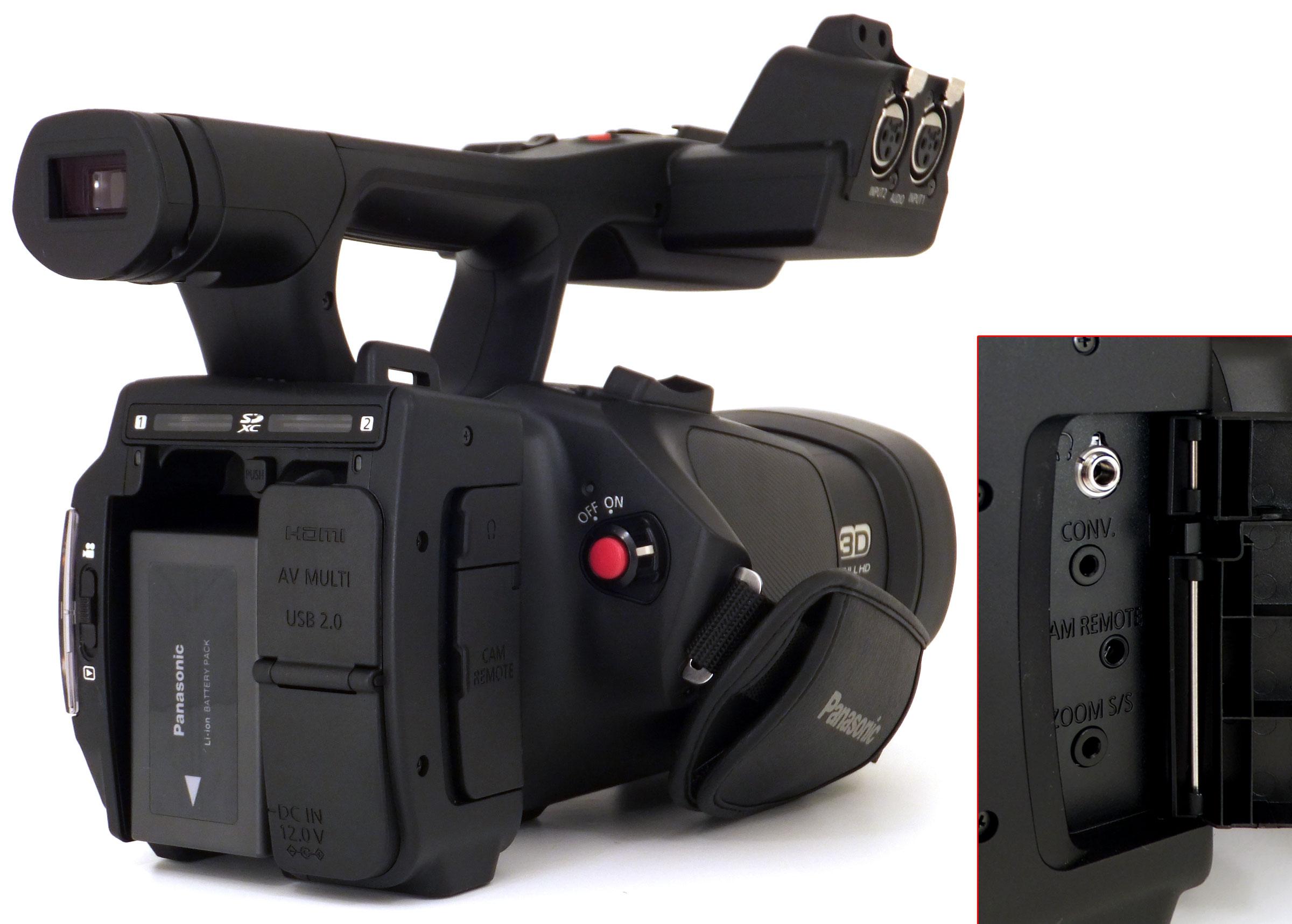Panasonic HDC-SDT75 — «первая в мире 3D - 3DNews
