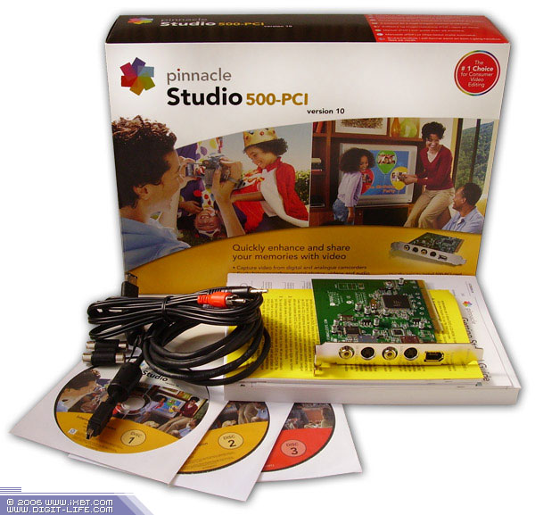 Pinnacle Studio Плата Видеозахвата